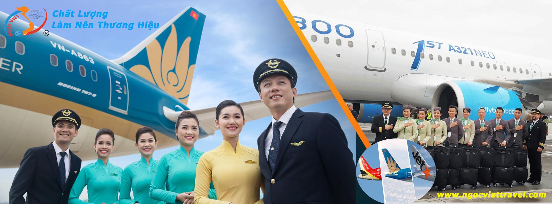 Đại lý vé máy bay trên toàn quốc